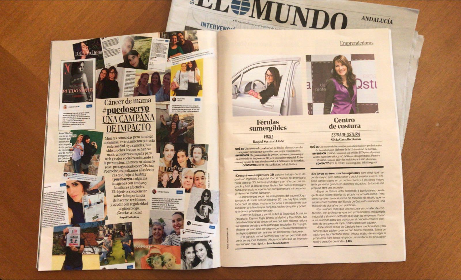 La revista Yo Dona escribe acerca de Fiixit