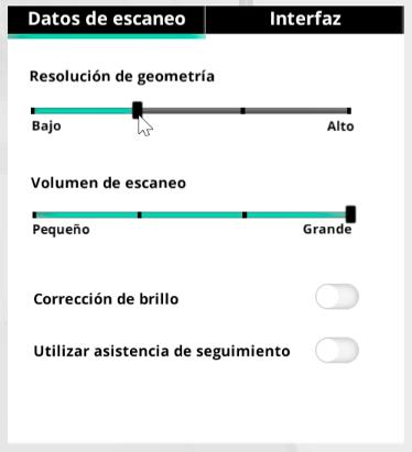 Ajustes avanzados de SENSE