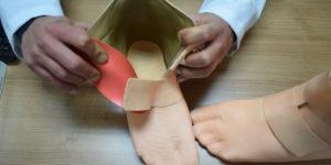 funda cosmética prótesis impresa en 3D