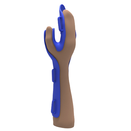 Férula palmar con cincha