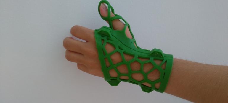 Férula dedo pulgar