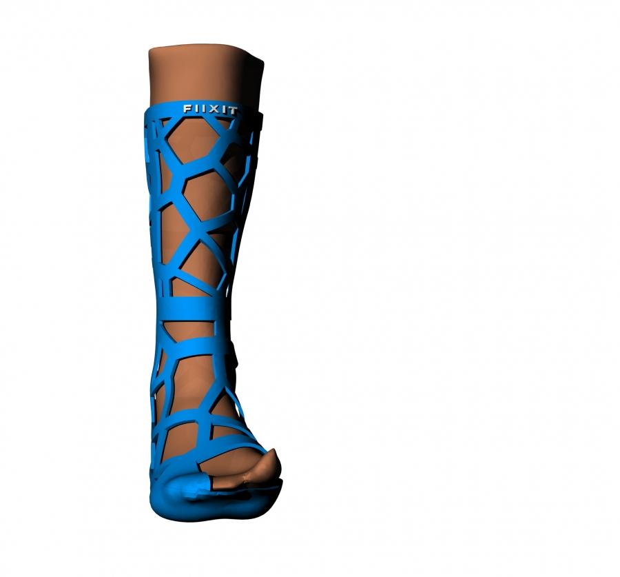 Férula inmovilización piernas